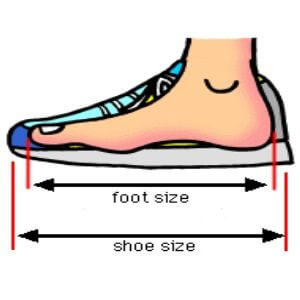 shoes for tendonitis with right size