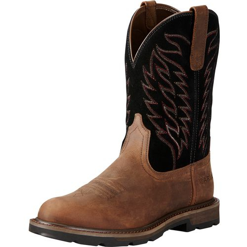 ARIAT Men's Groundbreaker Western Work Boot