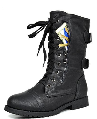 DREAM PAIRS Women's Combat Boots